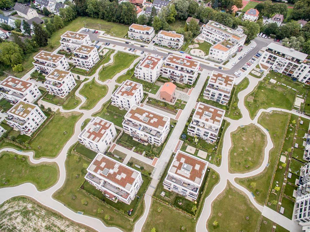 Luftaufnahmen München