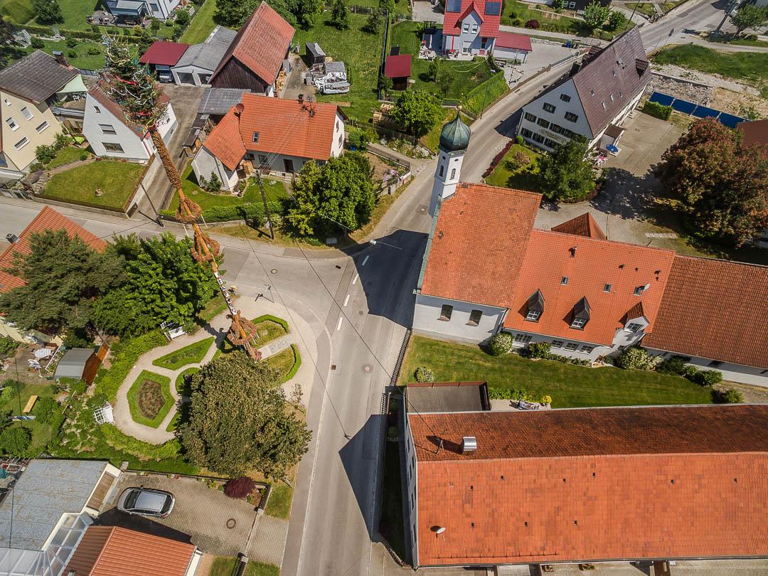 Luftaufnahme Neusäß - Schlipsheim