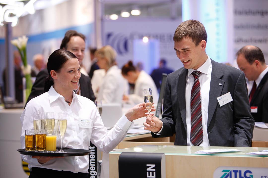 Eventfotos der Expo-Real in München