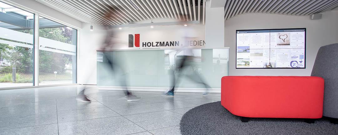 Imageaufnahmen für Holzmann Medien